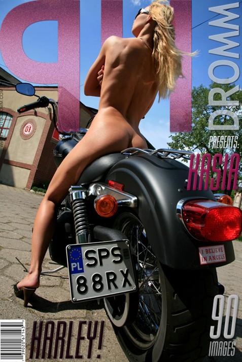 Kasia - `Harley` - by Filippo Sano for PHOTODROMM ARCHIVES