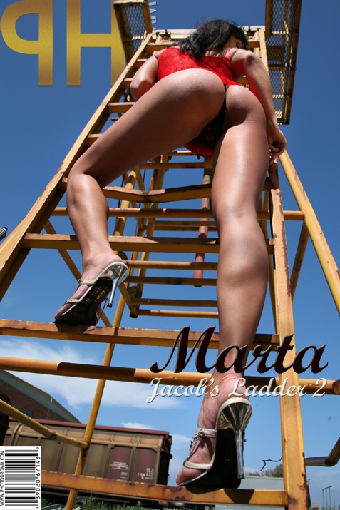 Marta - `Jacob's Ladder 2` - by Filippo Sano for PHOTODROMM ARCHIVES