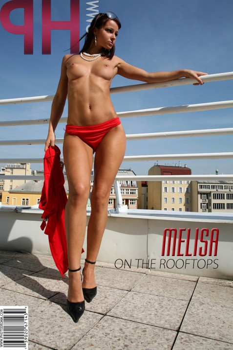 Melisa - `On The Rooftops` - by Filippo Sano for PHOTODROMM ARCHIVES