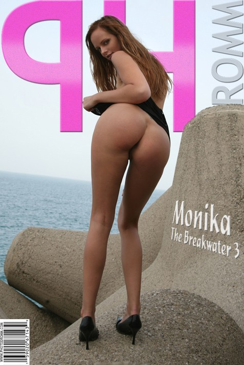 Monika - `The Breakwater 3` - by Filippo Sano for PHOTODROMM ARCHIVES