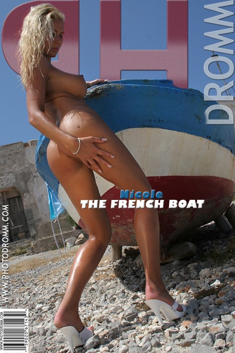 Nicole - `The French Boat` - by Filippo Sano for PHOTODROMM ARCHIVES