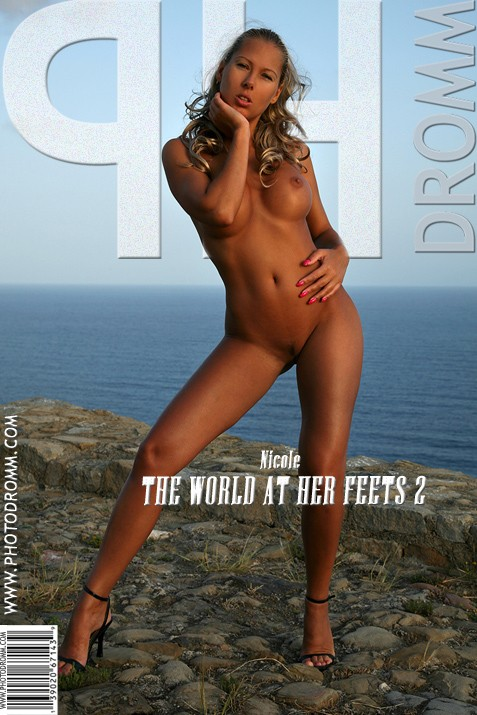 Nicole - `The World At Her Feets 2` - by Filippo Sano for PHOTODROMM ARCHIVES