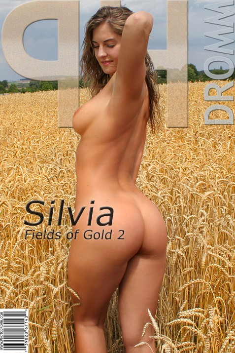 Silvia - `Fields Of Gold 2` - by Filippo Sano for PHOTODROMM ARCHIVES