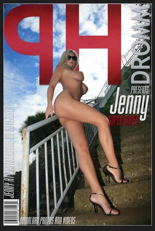 Jenny - `Super Duper III` - by Filippo Sano for PHOTODROMM