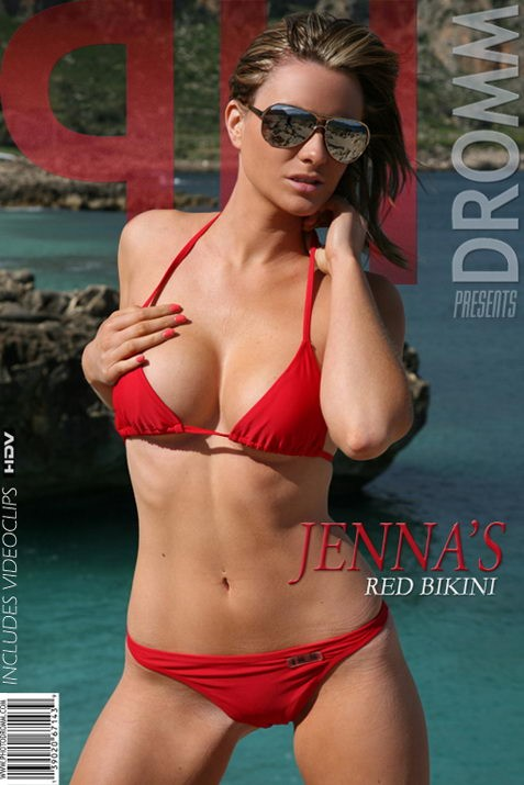 Jenna - `Red Bikini` - by Filippo Sano for PHOTODROMM
