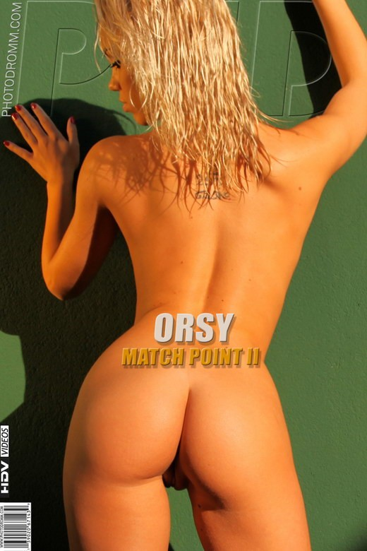 Orsy - `Match Point II` - by Filippo Sano for PHOTODROMM