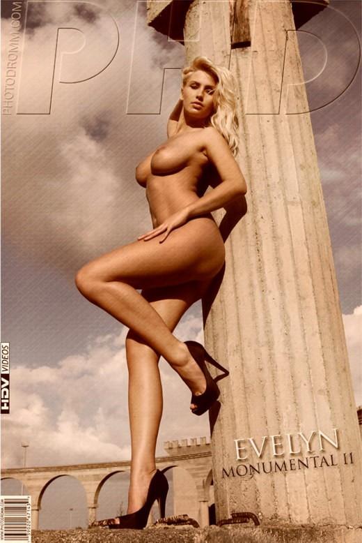 Evelyn - `Monumental II` - by Filippo Sano for PHOTODROMM