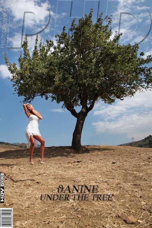 Janine - `Under the Tree` - by Filippo Sano for PHOTODROMM