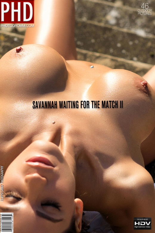 Savannah - `Waiting for the Match II` - by Filippo Sano for PHOTODROMM