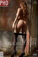 Heather in Blacksuit Down gallery from PHOTODROMM by Filippo Sano