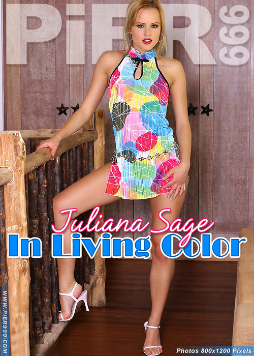 Juliana Sage - `In Living Color` - for PIER999