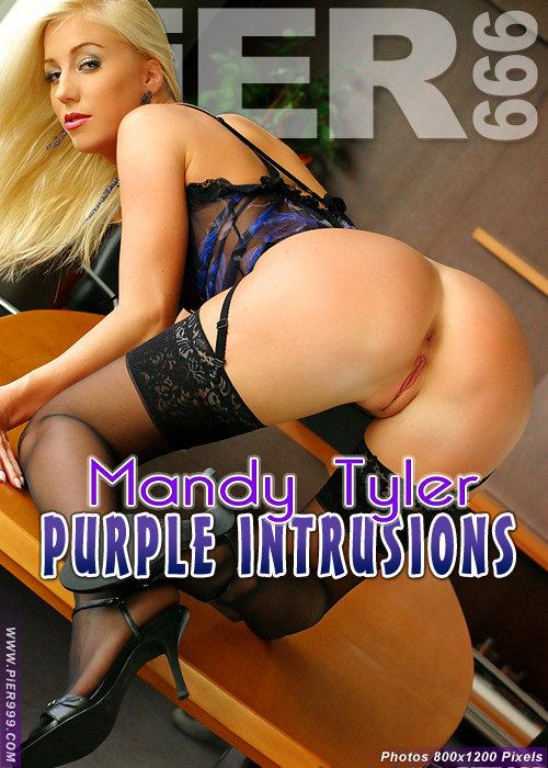 Mandy Tyler - `Purple Intrusions` - for PIER999