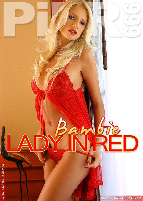Bambie - `Lady In Red` - for PIER999