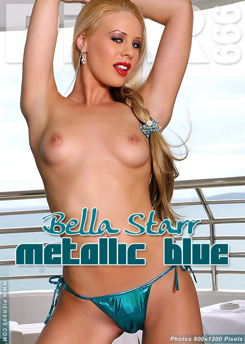 Bella Starr - `Metallic Blue` - for PIER999