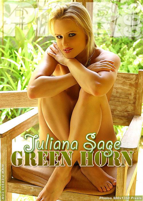 Juliana Sage - `Green Horn` - for PIER999