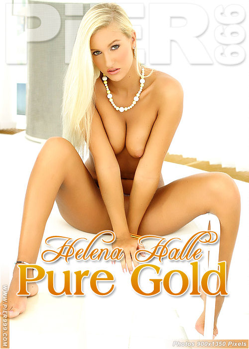 Helena Halle - `Pure Gold` - for PIER999