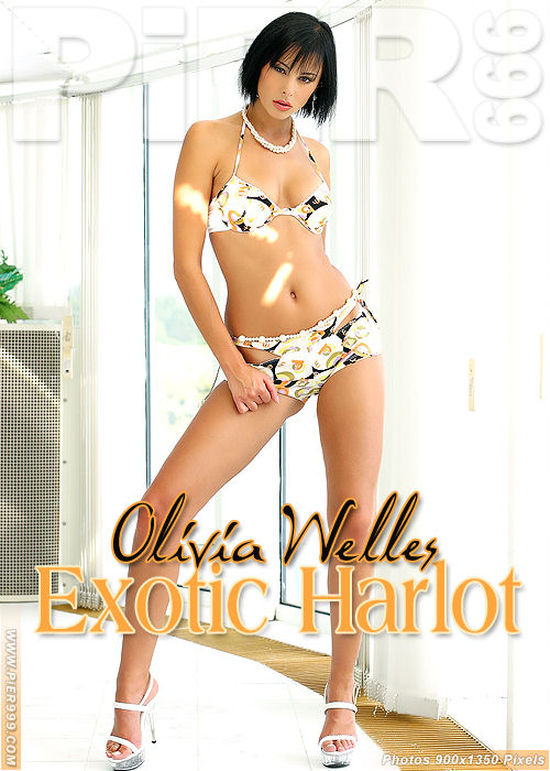 Olivia Wells in Exotic Harlot gallery from PIER999