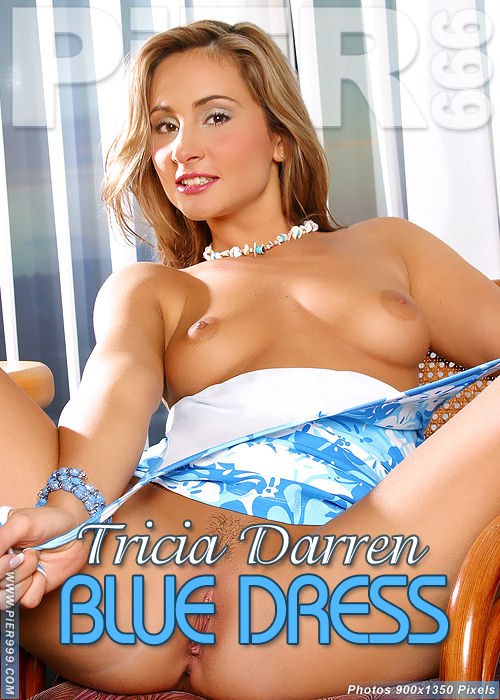 Tricia Darren - `Blue Dress` - for PIER999