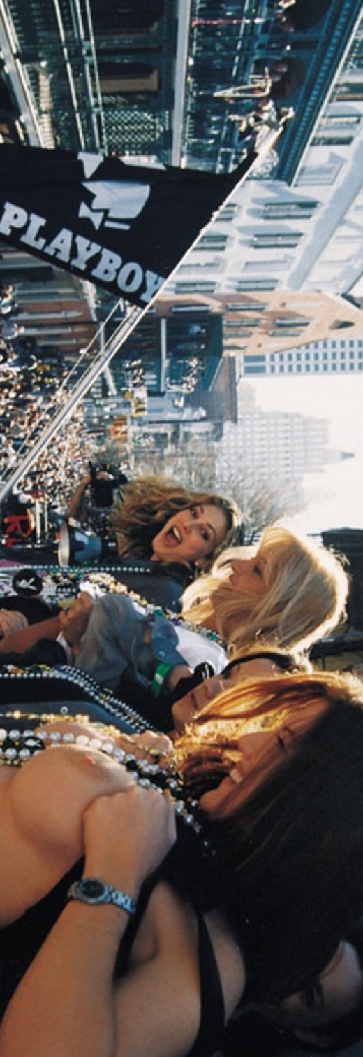 Karina Mitchell & Katalina Verdin & Kori Adams & Laurie Wallace & Merritt Cabal & Nicole Narain & Roxanne Galla & Shannon Leahy in Events - Mardi Gras 2000 - Masquerade