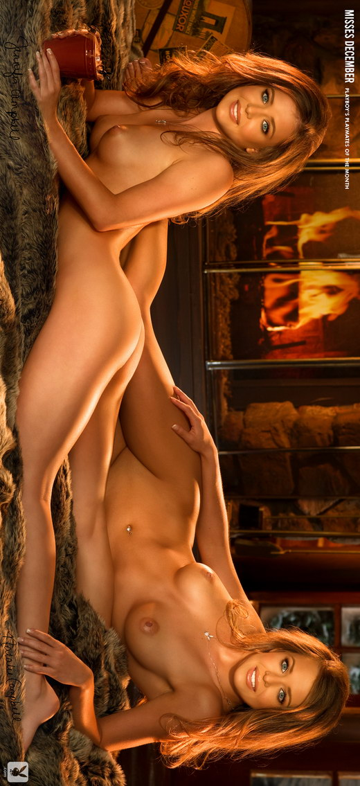 The Campbell Twins - `Miss December` - by Stephen Wayda for PLAYBOY PLUS