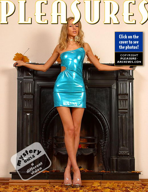 `Shiny Blue Skirt` - for PLEASURE-ARCHIVES
