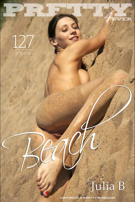 Julia B in Beach gallery from PRETTY4EVER