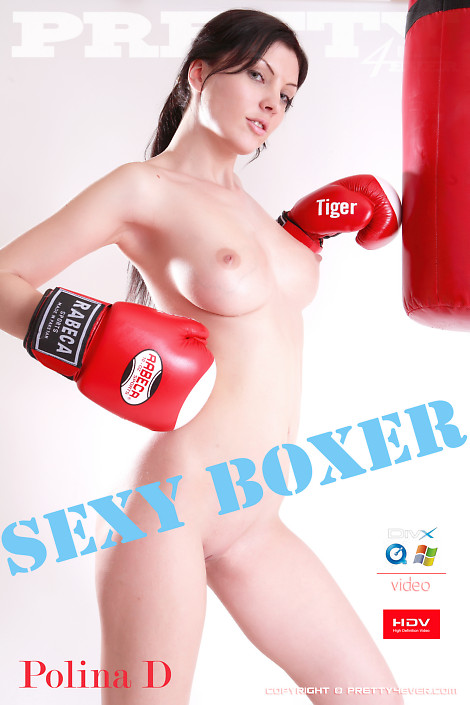 Polina D - `Sexy Boxer` - for PRETTY4EVER