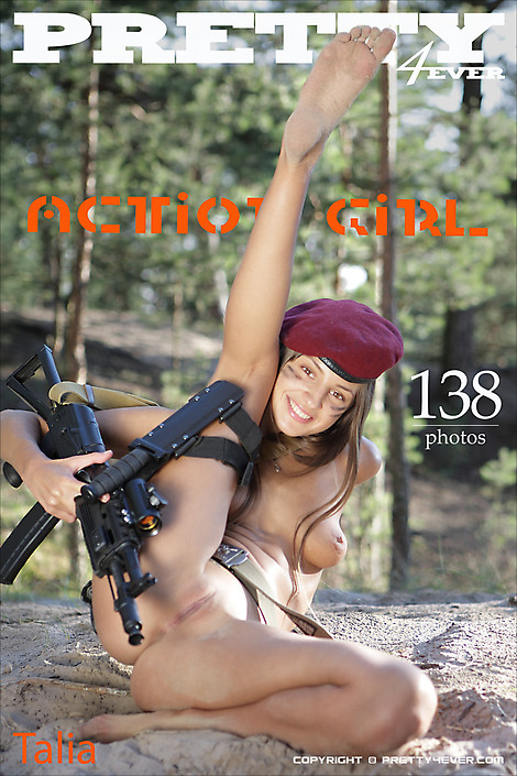 Talia - `Action Girl` - for PRETTY4EVER