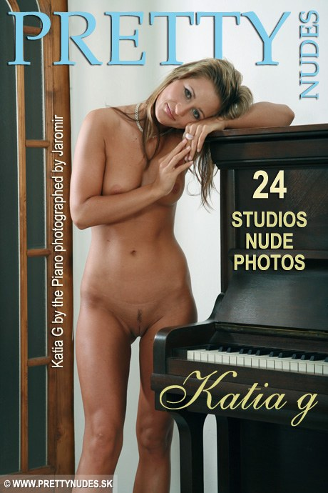 Katia G - `By the Piano` - by Jaromir Plesko for PRETTYNUDES