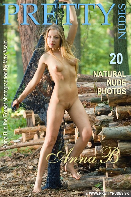 Anna B - `In the Forest` - by Max Asolo for PRETTYNUDES
