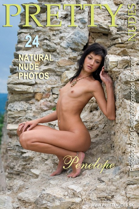 Penelope - `By Old Castle` - by Jaromir Plesko for PRETTYNUDES