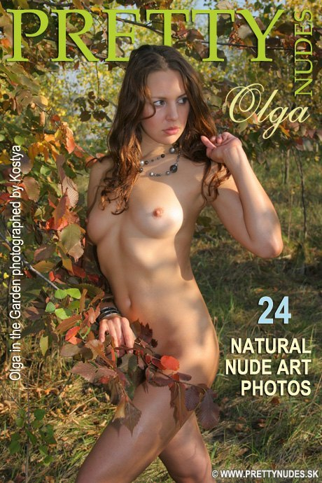 Olga - `In the Garden` - by Kostya for PRETTYNUDES