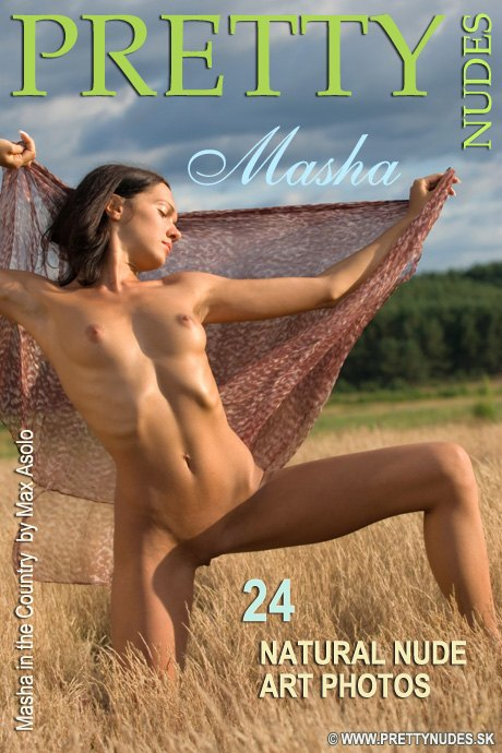 Masha - `In the Country` - by Max Asolo for PRETTYNUDES