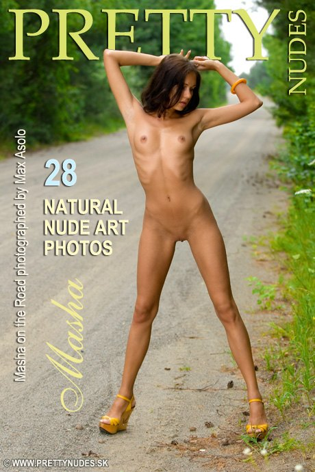 Masha - `On the Road` - by Max Asolo for PRETTYNUDES