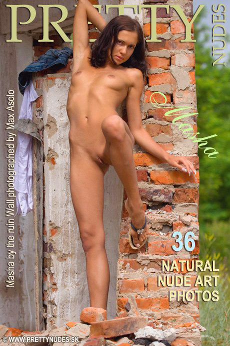 Masha - `By The Ruin Wall` - by Max Asolo for PRETTYNUDES