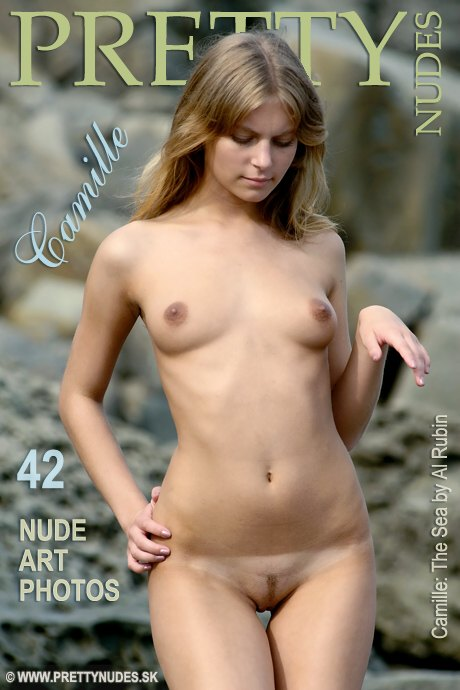 Camille - `The Sea` - by Al Rubin for PRETTYNUDES