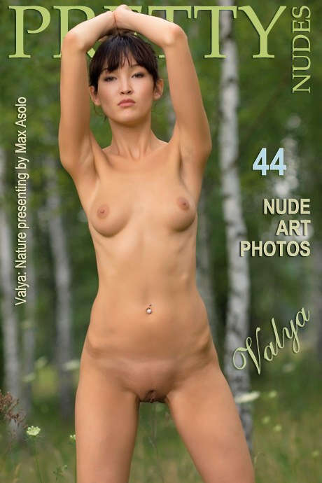 Valya - `Nature` - by Max Asolo for PRETTYNUDES