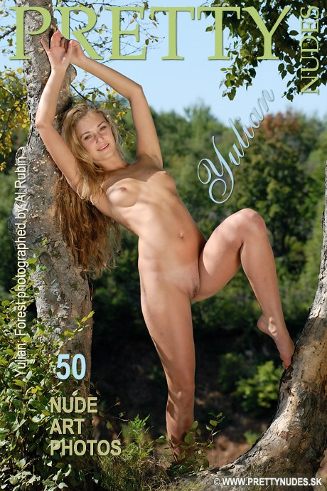 Yulian - `Forest` - by Al Rubin for PRETTYNUDES