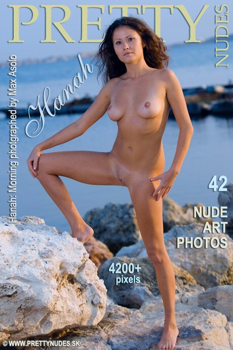 Hanah in Morning gallery from PRETTYNUDES by Max Asolo