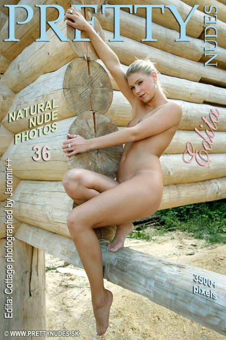 Edita - `Cottage` - by Jaromir Plesko for PRETTYNUDES