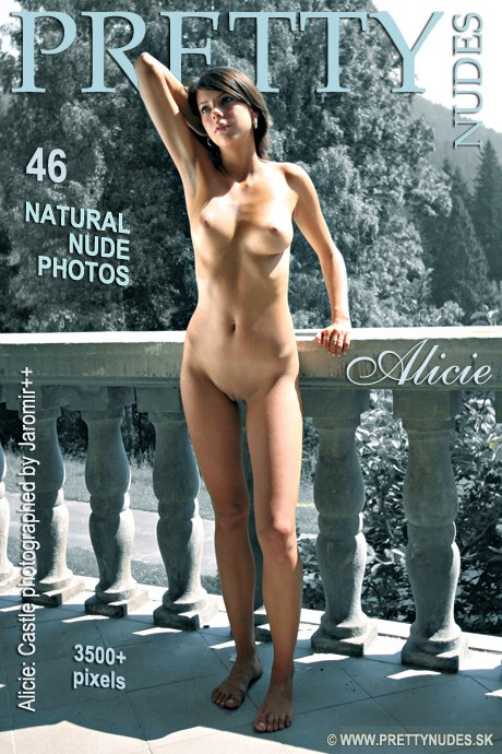 Alicie - `Castle` - by Jaromir Plesko for PRETTYNUDES
