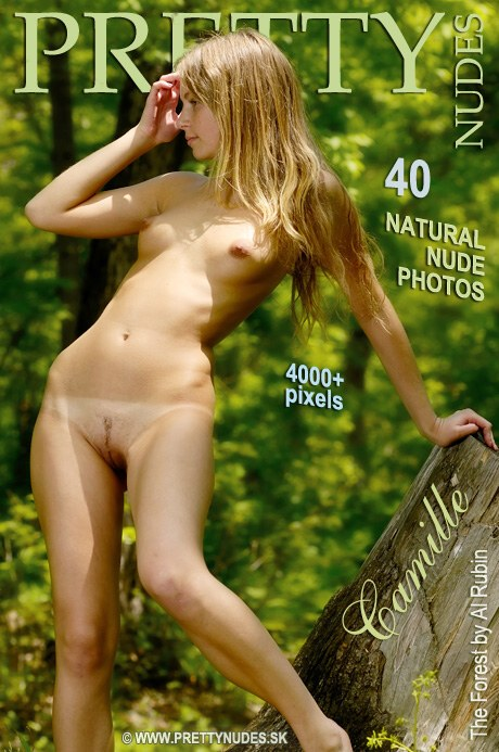 Camille - `The Forest` - by Al Rubin for PRETTYNUDES