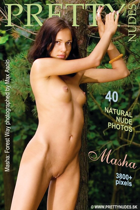 Masha - `Forest` - by Max Asolo for PRETTYNUDES