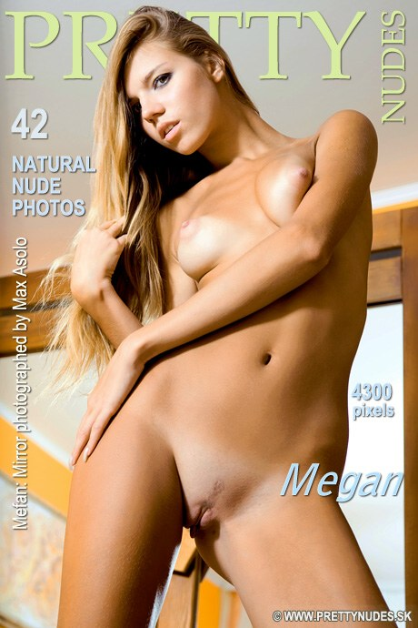 Megan - `Mirror` - by Max Asolo for PRETTYNUDES
