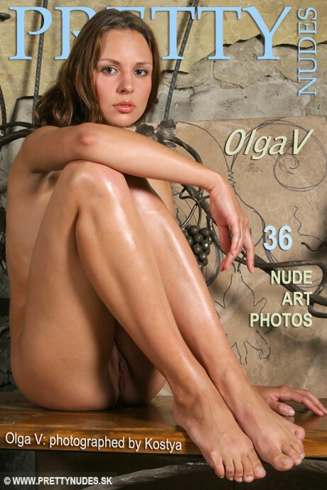 Olga V - `Olga V` - by Kostya for PRETTYNUDES