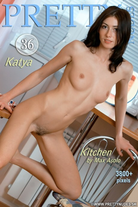 Katya - `Kitchen` - by Max Asolo for PRETTYNUDES