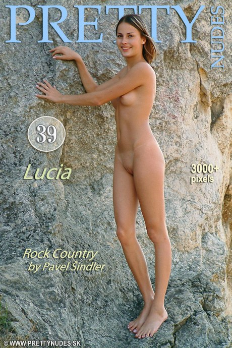 Lucia - `Rock Country` - by Pavel Beran for PRETTYNUDES