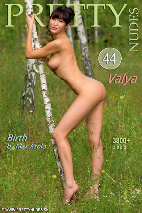Valya - `Birth` - by Max Asolo for PRETTYNUDES