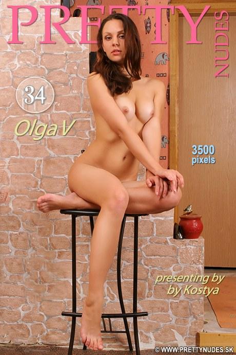 Olga V - `Presenting` - by Kostya for PRETTYNUDES