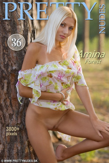 Amina - `Forest` - by Jaromir Plesko for PRETTYNUDES